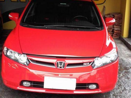 Limpeza de carros – Civic SI Vermelho