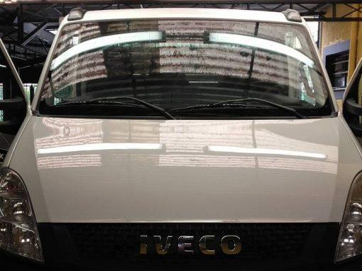 Limpeza de carros – Iveco