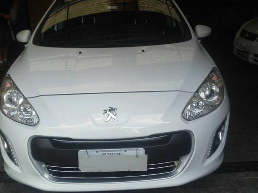 Limpeza de carros – Peugeot